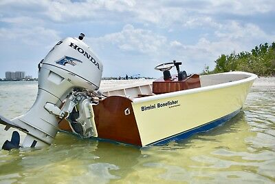 World Famous 16Ft Bimini Bonefisher Skiff By Ansil Saunders