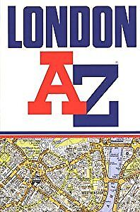 A to Z Street Atlas of London, Geographers' A-Z Map Company, Used; Acceptable Bo