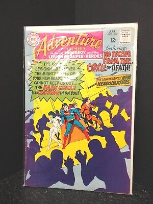 DC 1968 Adventure Comics #367 Starring Superboy & Legion of Super-Heroes