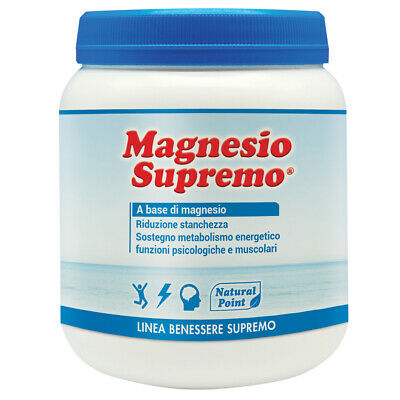 Natural Point Magnesio Supremo Solubile 300 Gr