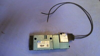 1 – MAC 811C-PM-501CA-152 Pneumatic Solenoid Valve, 24 VDC. NEW