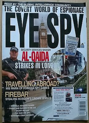 EYE SPY Mag. No.34. 2005  Convert World of Espionage LONDON BOMBINGS  Al-Qaida