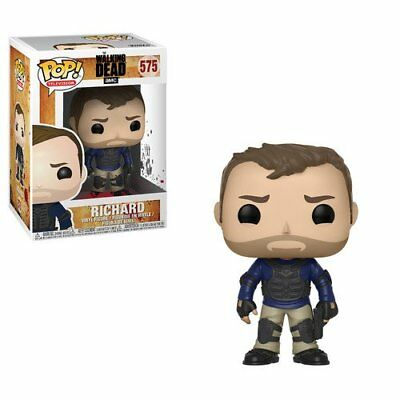 Funko Pop TV The Walking Dead Richard Vinyl Figure + Pop Protector