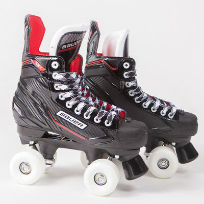 Bauer Quad Roller Skates - NSX - 2018 Model - Conversion - Sims Street Snakes