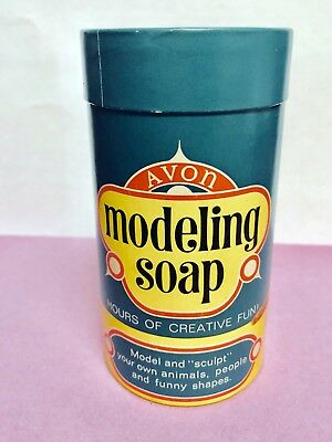 Vintage Avon Modeling Soap, 1960's, Never Used, New in Box