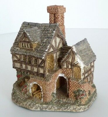 Vintage David Winter Cottages Bakehouse Figurine 1983 Hand Made in Great Britain