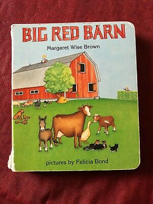Big Red Barn by Margaret Wise Brown (1995, First Board Book Edition) Kids Book