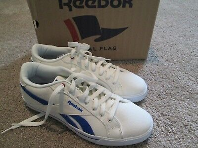 NEW Reebok Royal COMPLETE Mens CANVAS Athletic Off White Shoes 11 FREE SHIP!