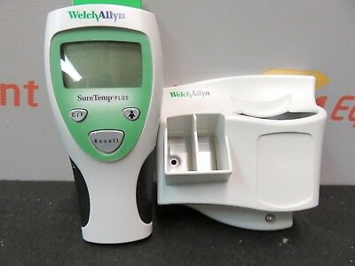 """Welch Allyn 01690-300M Sure Temp Thermometer 9"""" Oral Probe Wall Mount New"""