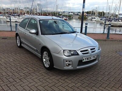 mg zr 1.4 105 plus 3 door in silver with 41000 miles on the clock