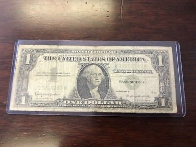 1957-B $1 One Dollar Silver Certificate \