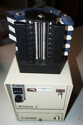 Gilson Minipuls 2 Peristaltic Tubing Pump 8 (eight)-Channel Clean and Tested
