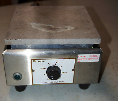 Barnstead Thermolyne Type 1900 Hot Plate HPA1915B 120V 750W