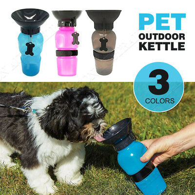 Portable Pet Dog Drinking Travel Mug Water Feeder Bottle Valve Special Tool
