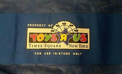 NEW YORK TIMES SQUARE Geoffrey Giraffe Toys R Us Exclusive Shopping Tote Bag NY