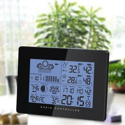 New Forecast Temperature Humidity Barometer Wireless Weather Station Sensor.UK