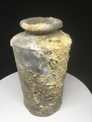 Ancient Chinese Han Dynasty Clay Wine Jar ~2,000 Years Old - Amazing Condition