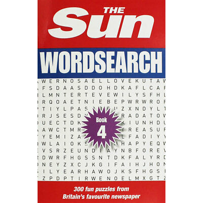 The Sun Wordsearch - Book 4 (Paperback), New Arrivals, Brand New