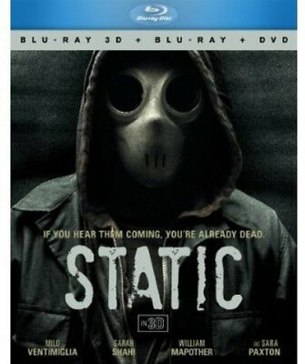 Static [3 Discs] [3D/2D] [Blu-ray/DVD] (Blu-ray Used Like New)