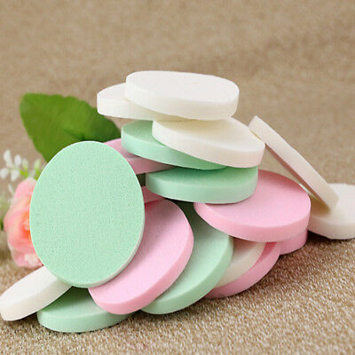 20Pcs Soft Cleansing Sponge Natural Face Wash Puff Facial Cleaning Pad Tools