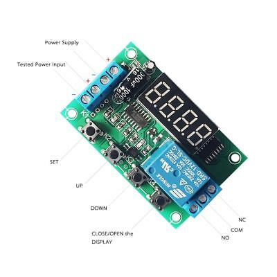 Charging Discharge Voltage Monitor Test Relay Switch Control Board Module D6B3