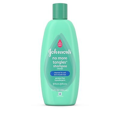 Johnson's No More Tangles Toddler Hair Shampoo  Conditioner, 13 Oz.