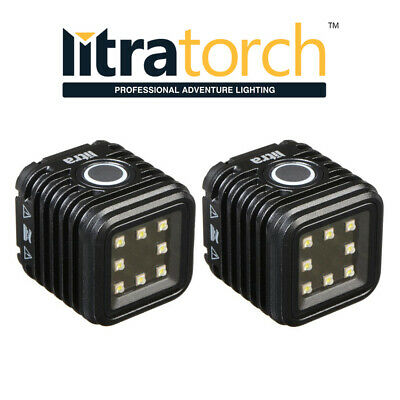 2x Litra Torch Camera Video Light Lamp LED Flash Underwater GoPro DV Accessories