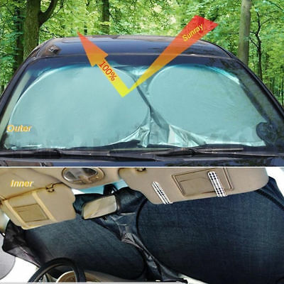 Auto Windshield Block Cover Protector Sun Shade Visor Folding Car Front Window