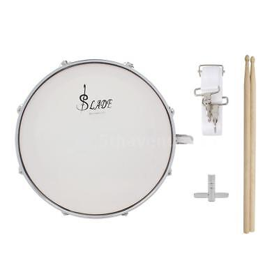 Professional Snare Drum Head 14 Inch with Drumstick Drum Key Strap for N3N3