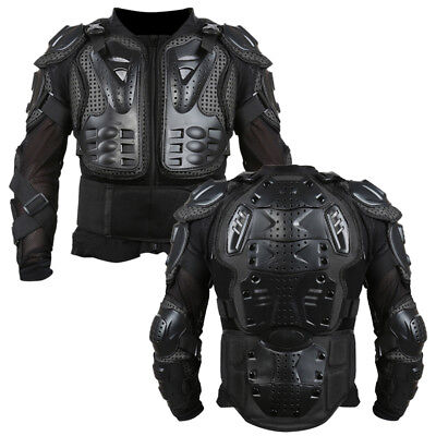 Motorcycle Bike Full Body Armour Jacket Spine Chest Gear Protective S-XXXL ke1