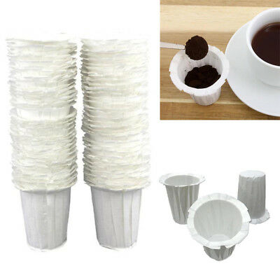 100pcs Disposable Paper Filters Cups Replacement Coffee Filters environmentally