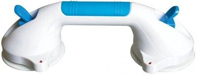 Carex Health Brands Ultra Grip 12 In. X 4-1/2 In. Grab Bar In White And Teal New