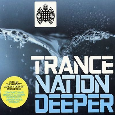 Ministry of Sound - Trance Nation Deeper (2 X CD' Various Artists)