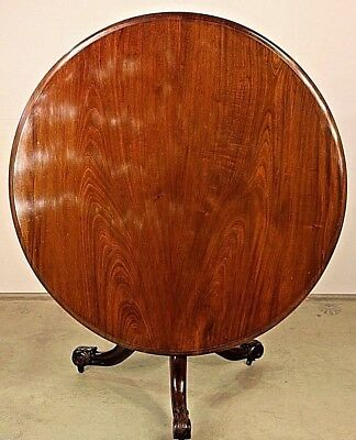 Rare signed antique Australian Colonial solid cedar dining table 1860s Museum