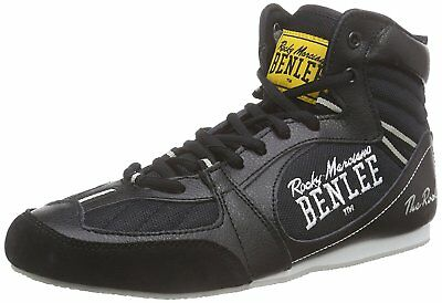 New Benlee Rocky Marciano The Rock Senior Mens Boxing Boots Mid Cut Shoes