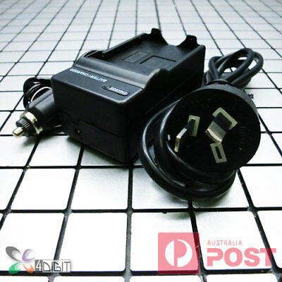 AC Wall + Car Battery Charger for Nikon EN-EL9 ELEL9 D3000 D40 D40x D5000 D60