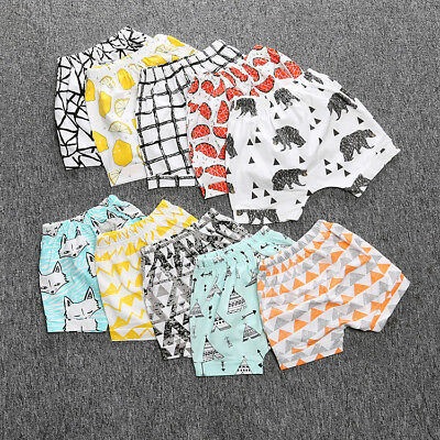 Children Baby Boy Girl Cotton Pants Shorts comfortable Bloomers Panties Shorts