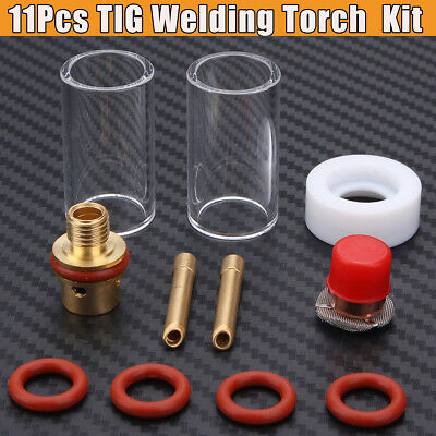 Save 40% Gas TIG Welding Torch Stubby Gas Lens Glass Nozzle Cup For WP-9/20/25