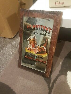 vintage bar mirror - J.C.Hutton's