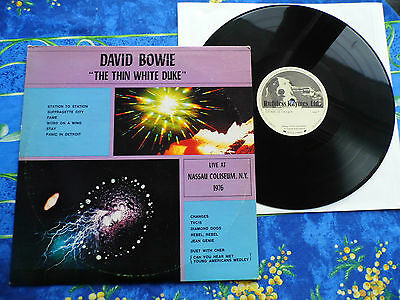 David Bowie ♫ The Thin White Duke ♫ Progrock ♫ Rare Second Edition Records  #1A