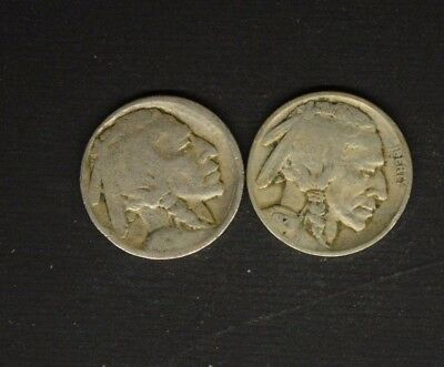 Buffalo Nickels 1921 / 1913 Type 1    ....................4641