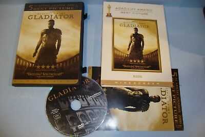 Gladiator (DVD, 2003, Limited Edition Widescreen)