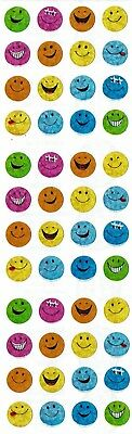Stickers Sandylion Shiny Smiley Smile Faces Expression Scrapbooking Sticker
