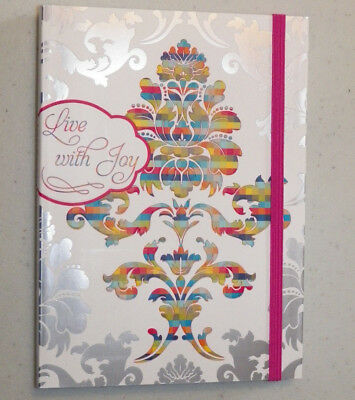 Live With Joy Christian Journal with Bible Scripture Verse by DaySpring Cards