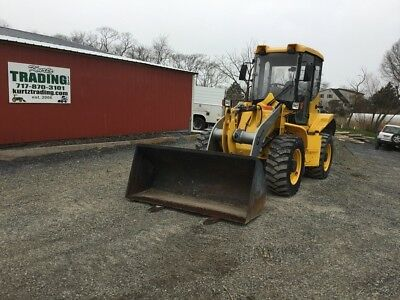 2007 Coyote C17-4 4x4 Compact Wheel Loader w/ Cab & Forks!
