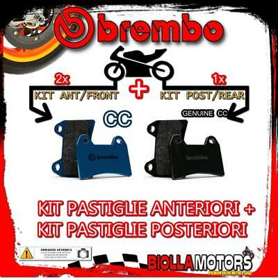 Brpads-50647 Kit Pastiglie Freno Brembo Indian Scout 2017- 1200Cc [Cc+Genuine] A