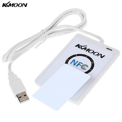 KKmoon USB Contactless 13.56Mhz ACR122U NFC RFID Reader & Writer + 5x IC Cards