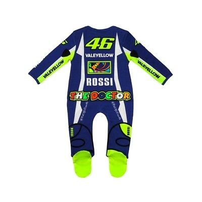 VR46 BABY GROW SUIT OVERALL REPLICA Official Valentino Rossi Merchandise