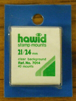 2 Pieces Of Hawid Mounts 21 X  24Mm - Clear   Free Shipping      #haw-2124C40