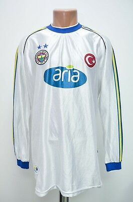 Fenerbahce Turkey 2001/2002 Away Football Shirt Fenerium L Adult Long Sleeve